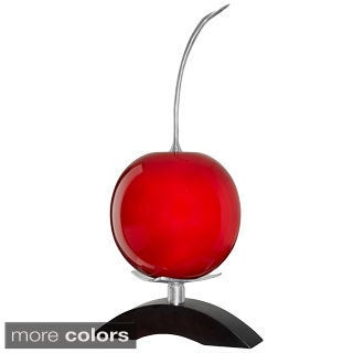 Artesana Cherry on Pewter Bridge Sculpture