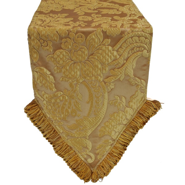Austin Horn Classics Genevieve Gold Luxury Table Runner