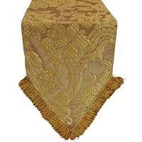 Austin Horn Classics Genevieve Gold Luxury Table Runner