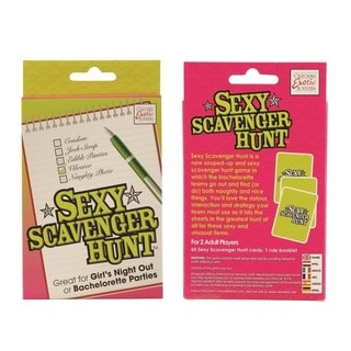 Sexy Scavenger Hunt Card Game