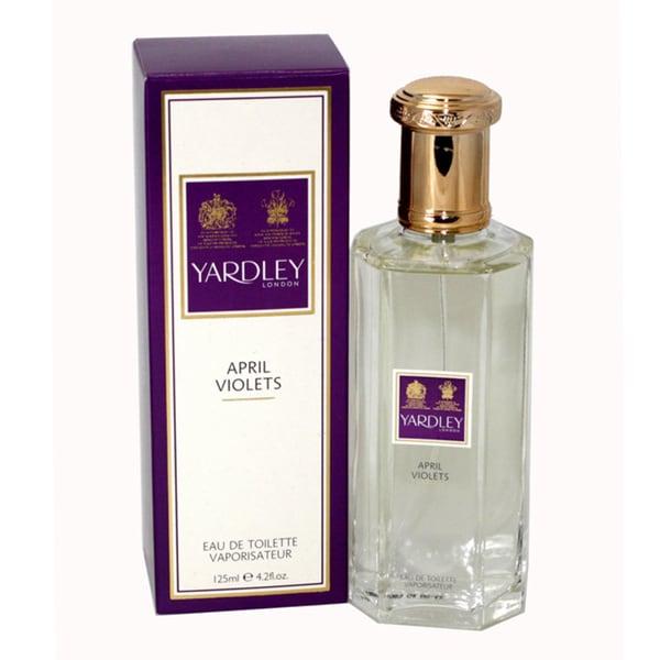 02a866e09b22 Yardley April Violets Women's 4.2-ounce Eau de Toilette Spray
