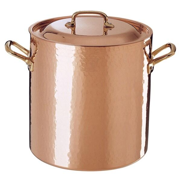 Shop Ruffoni Opera 8 5 Quart Copper Stock Pot Free