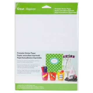 Cricut 2002530 Printable Adhesive Paper