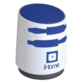 Star Wars R2D2 iHome Rechargeable Mini Speaker with Rechargeable Lithium Ion Battery