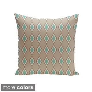51 x 60 Kess InHouse Julia Grifol Brown Triangles Maroon Pattern Wall Tapestry