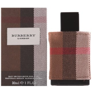 Burberry Fabric Men's 1-ounce Eau de Toilette Spray
