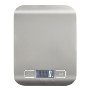 insten silver stainless steel ultra slim 1 5000g handy digital kitchen scale food scale - Best Kitchen Scale