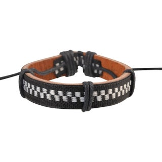 Zodaca Colorful Multistring Fashion Handmade Genuine 100-percent Leather Braided Bracelets (More options available)