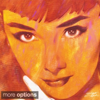 Stephen Fishwick 'Audrey Too' Gallery-wrapped Canvas Art