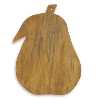 Handmade Pinewood 'Grandma's Pear' Cutting Board (Guatemala)