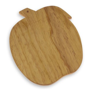 Handmade Pinewood 'Grandma's Apple' Cutting Board (Guatemala)