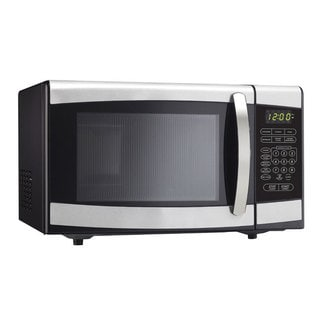 Danby 0.9 cubic feet Countertop Microwave Oven Stainless Steel