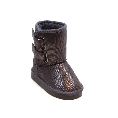 Blue Children's K-Ugena Shine Mid Calf Synthetic boots