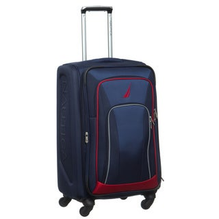 Nautica Timoneer 25-inch Medium Expandable Spinner Upright Suitcase