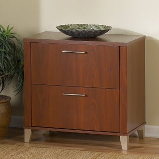 Bush Furniture Somerset Lateral File Cabinet (Option: Red)
