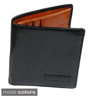Castello Premium Italian Leather Billfold Wallet