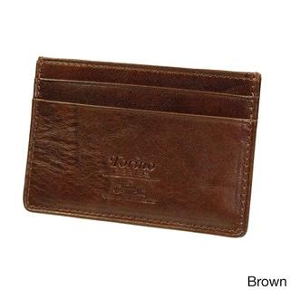 Castello Italian Leather Slim Cardholder