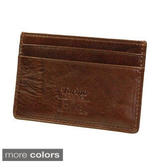 Castello Italian Leather Slim Cardholder