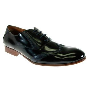 Ferro Aldo Men's Wing Tip Oxfords
