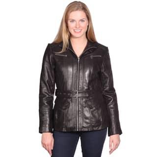 NuBorn Leather Women's Elena Leather Jacket|https://ak1.ostkcdn.com/images/products/9599220/P16785066.jpg?impolicy=medium