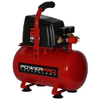 PowerPro 2-gallon 2.0 HP Oil-free Compressor