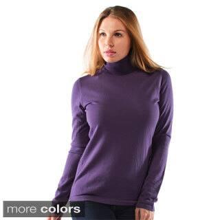 Women's Extra Fine Merino Wool Turtleneck Sweater|https://ak1.ostkcdn.com/images/products/9599245/P16785076.jpg?impolicy=medium