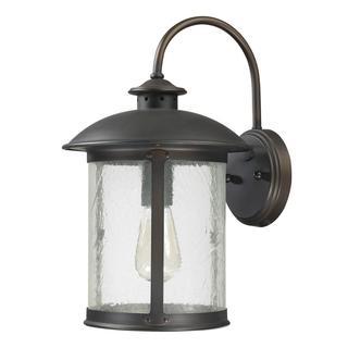 Dylan 1-light Old Bronze Wall Lantern Light