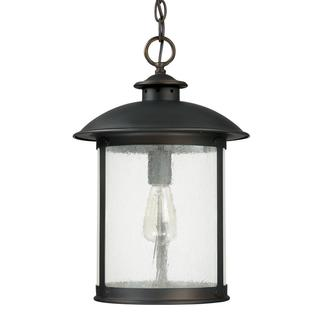 Capital Lighting Dylan Collection 1-light Old Bronze Outdoor Hanging lantern Light