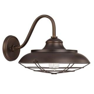 Capital Lighting Barn Style 1-light Burnished Bronze Wall Lantern Light