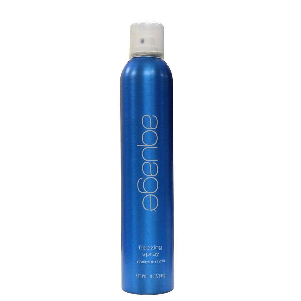 AQUAGE Freezing 10-ounce Hairspray, Brown