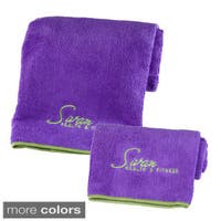 Sivan Health and Fitness Yoga and Hand Towel Set