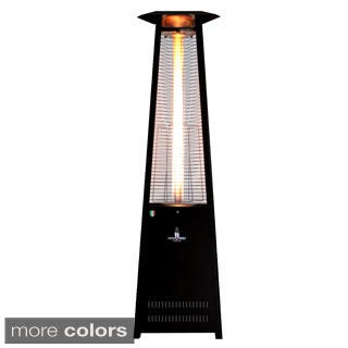 Triangular 8 ft. Commercial Flame Patio Heater Assembled Propane (Non-Remote)