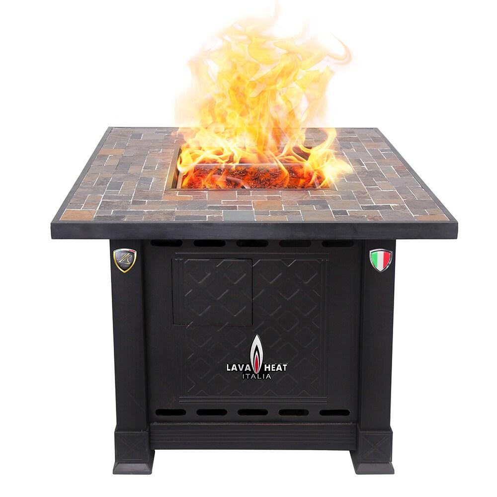 Lava Heat Italia 30,000 BTU Patio Heater Volterra Fire Pi...