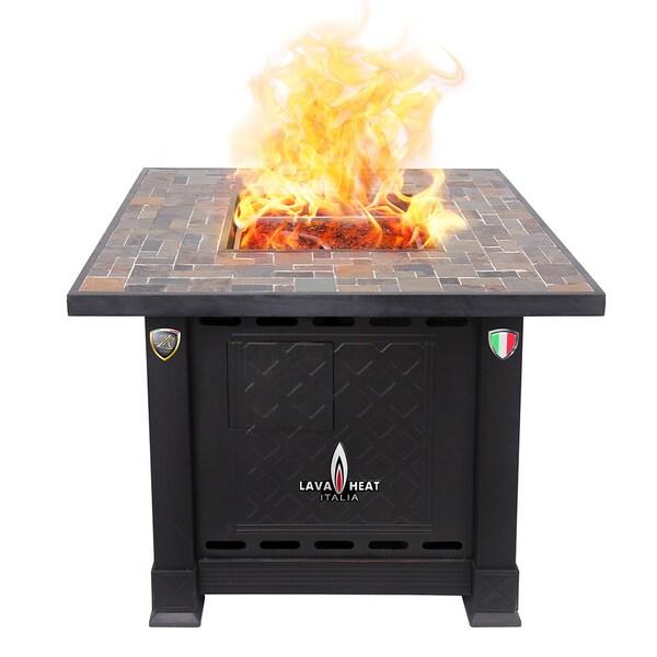 Lava Heat Italia 30,000 BTU Patio Heater Volterra Fire Pit