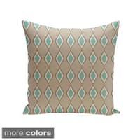 Geometric Decorative Throw Pillow 26 x 26-inch