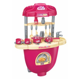 Berry Toys Pink Plastic Play Kitchen