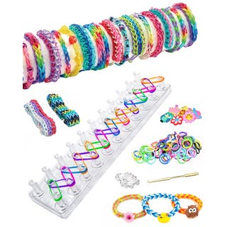 As Seen on TV Friendship Loom Band Bracelet Maker Kit|https://ak1.ostkcdn.com/images/products/9599564/P16785422.jpg?impolicy=medium