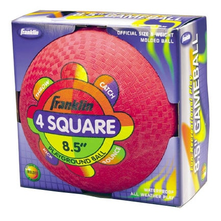 Franklin Sports 8.5-inch Rubber Playground Ball