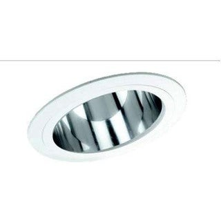 Raptor Lighting 6-inch Sloped Recessed Trim Clear Reflector BR30/ PAR30-IC BR40/ PAR30-Non-IC Ceiling Light