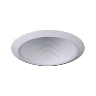 Raptor Lighting 6-inch Recessed Trim White Baffle Br30/ Par30 (Case Pack of 4 Units)