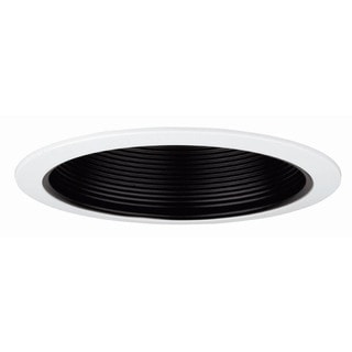 Raptor Lighting 6-inch Recessed Trim Black Baffle Br30/ Par30 Ceiling Light (Case Pack of 4 Units)