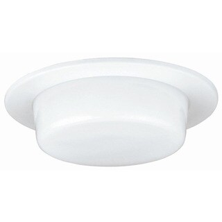 Raptor Lighting 6-inch Recessed Shower Trim Dropped Lens A19-ic A19 Non-ic (Case Pack of 4 Units)