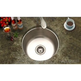 Houzer Club Undermount Round Bar/ Prep Sink