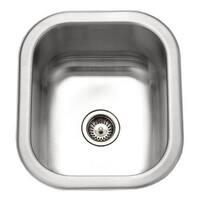 Houzer Undermount Small Bar/Prep Sink CS-1307-1 Lustrous Satin