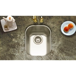 Houzer Club Medium Bar/ Prep Sink