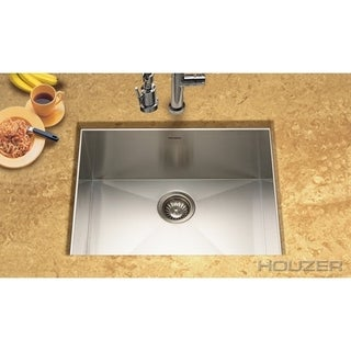 Houzer Contempo Single Bowl