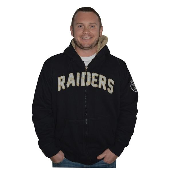 Oakland Raiders NFL Sherpa Hooded Jacket