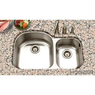 Houzer Eston 70/30 Small Bowl Right Double Bowl