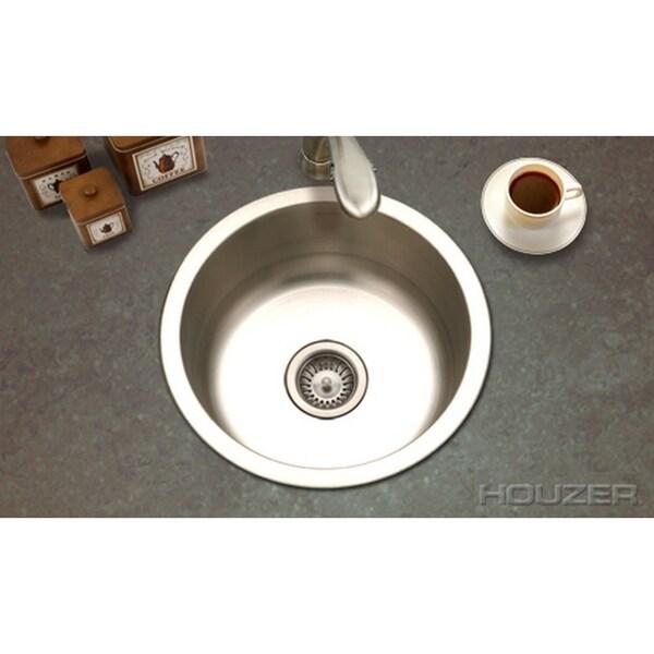 Houzer Hospitality Round Prep Sink Free Shipping Today