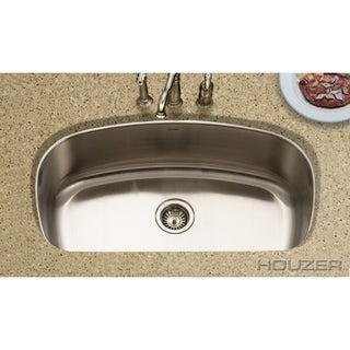 Houzer Medallion Designer Gourmet Single Bowl